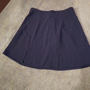 American Apparel mini skirt dark blue with slits